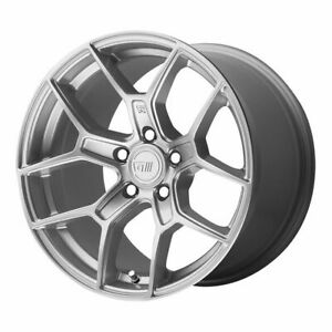 Four 4 18x9 5 Motegi Mr133 Et 45 Silver 5x114 3 5x4 5 Wheels Rims