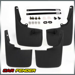 For 2011 2016 Ford F 250 350 Mud Flaps Without Fender Flares Mud Guards Splash