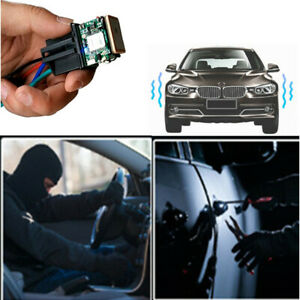 Car Relay Gps Track Device Gsm Locator Monitor Acc Testing Towed Away Move Alarm