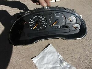 1998 Only Ford Mustang V6 Gauge Cluster 120 Mph Sn95 196575k New Gears Installed