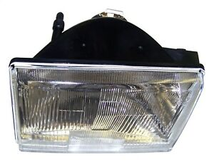 Fits 1993 1996 Jeep Grand Cherokee European Left Front Glass Head Lamp Light