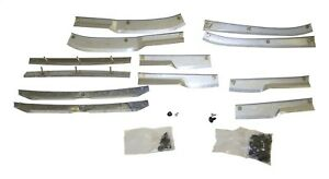 Fits 84 96 Jeep Cherokee 12 Piece Fender Flare Support Brackets Hardware Kit