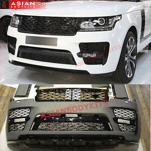 Body Kit For Range Rover Vogue L405 2013 2017 Svo Bumper Muffler Tips