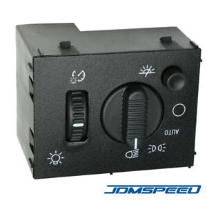 New Headlight Dome Light Dimmer Switch D1595g For Chevy Gmc Cadillac Hummer