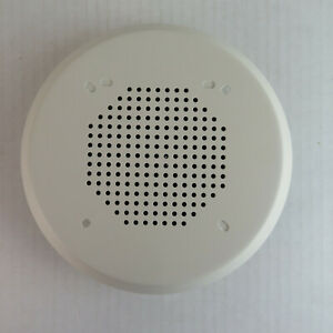 Amseco Commercial Fire Alarm Speaker Round White Fh 47w 25r