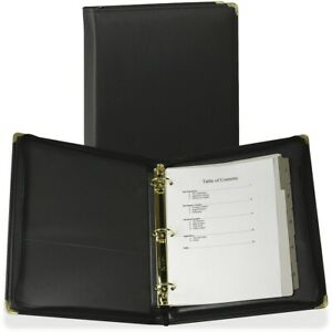 Samsill Classic Collection Zippered Ring Binder 15250