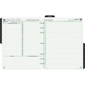 Day timer Appointment 2ppd Reference Planner Refills 94800