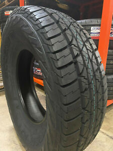 6 New 245 75r17 Accelera Omikron A T Tires 245 75 17 R17 2457517 10 Ply At