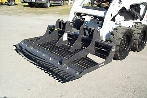 Bradco Skid Steer 78 Landscape Sculptor W Comber great For Driveways dirt Road