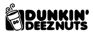 Dunkin Deeznuts Funny Decal W Free Shipping Available In Multiple Colors