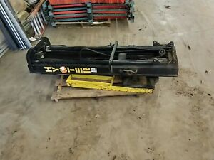 Hyster 18 3 stage Upright Side Shift Tilt Forklift Mast From S30xl Lift Truck