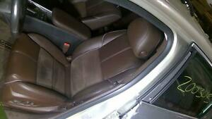 2014 2015 Chevrolet Impala Left Driver Front Seat Brownstone Leather Suede Testd