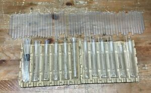Lot Of Pyrex Glass Blowing Tubes Viles Laboratory Glass Wear Nice Some