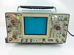 Tektronix 465 Analog Oscilloscope power Tested Sold As Is