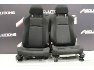 2006 Nissan 350z Front Seats Oem Cloth Black