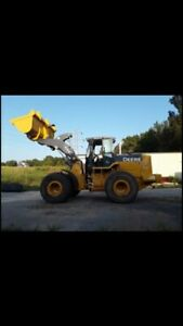 2008 John Deere 644j Front End Loader low Hours