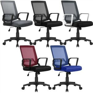 Mid back Mesh Office Chair Ergonomic Height Adjustable Computer Desk Chair