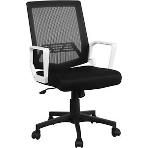 Mid back Mesh Office Chair Executive Task Ergonomic Computer Desk Chair Gray