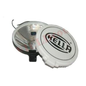 Universal Hella Comet 500 Driving Lamp White Spot Light With Cover Bulb Cdn