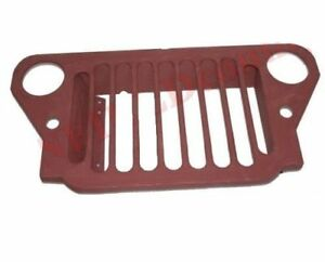 Primer Coated Radiator Steel Grille Grill For Ford 41 45 Mb Gpw Jeeps Cdn