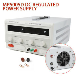 5a 500v Variable Linear Regulated Digital Programmable Dc Power Supply