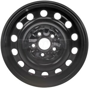 Fits 2002 2011 Toyota Camry 16 X 6 5 Inch Black Steel Wheel With 16 Inch Tires