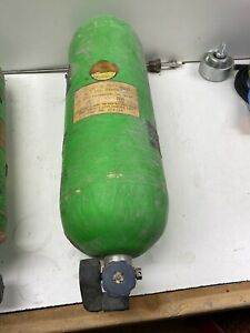 Msa Metal Scba Oxygen Air Tank Cylinder 7500 Psi Used