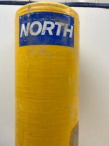 North Safety Products Metal Scba Oxygen Air Tank Cylinder 2216psi Used