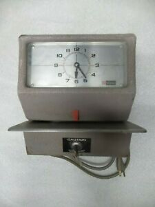 Simplex Time Clock Jcp5r3 With Key