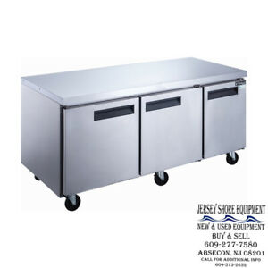 Bison Bur 72 72 Undercounter Cooler 3 Door 32 8 Cu Ft