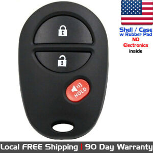 1x New Replacement Keyless Entry Remote Control For Toyota Gq43vt20t Shell Only