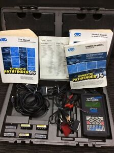 Otc Monitor 4000e Diagnostic System Scan Tool W User Manuals Accessories Case