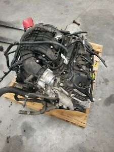 2013 Ford Mustang 3 7 V6 Engine And Automatic Transmission
