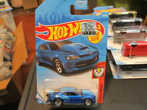 2019 Hot Wheels Factory Sealed Set 18 Copo Camaro Ss Blue Muscle Mania