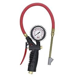 Milton S 577a Analog Inflator Gauge With Straight Foot Head Air Chuck