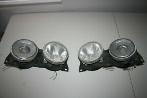 1989 325i Bmw E30 Hella Elipsoid Headlights Left Right Driver Passenger Side