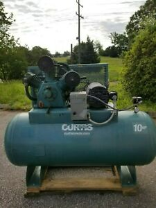 Used 10 Hp Curtis Piston Air Compressor