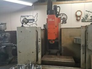 Mazak Vtc 41 Cnc Vertical Milling Machine