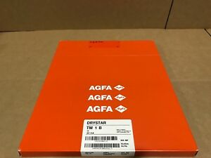 Agfa Drystar Tm 1 B Mammo Dry Medical Film Pack 100 Nif 35x43 14x17inch Print