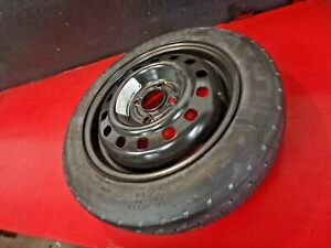 00 11 Ford Focus Spare Tire And Wheel Rim T125 80r15 125 80 15 Goodyear 15 Oem