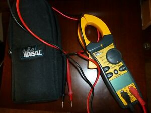 Ideal 61 765 True Rms Clamp Meter Tightsight 660 Amp Ac dc