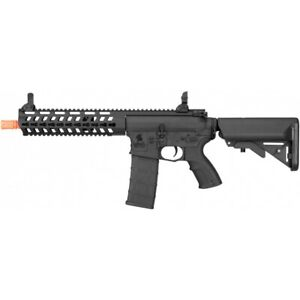 Lancer Tactical Airsoft Rapid Deployment Carbine M4 RDC AEG High Speed Black $149.00