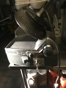 Hobart Model 2712 2 Speed Automatic Deli Meat cheese Slicer