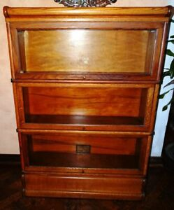 Antique Macey Barrister Lawyers Bookcase 3 Stack Local Pickup