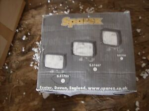 Sparex S51753 Sealed Beam Headlight Twin Beam Tractor