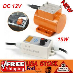 Dc 12v Brushless Micro Motor Vibration 15w speed Controller For Food Machinery