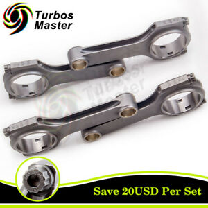 4x Connecting Rods Rod Kit For Vw Golf Mk1 Rabbit 1 6l Conrod 136mm 800hp