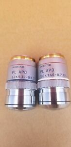 Leica Pl Apo Objective 100x 1 40 0 7 Oil And 63 1 32 0 6 Oil 0 17 d