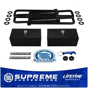 1 5 Rear Leveling Lift Kit 99 07 Chevy Gmc Silverado Sierra W Iso 9001 U bolts