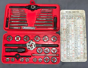 Snap On Tool 41 Piece Us Tap And Die Set Td 2425 Excellent